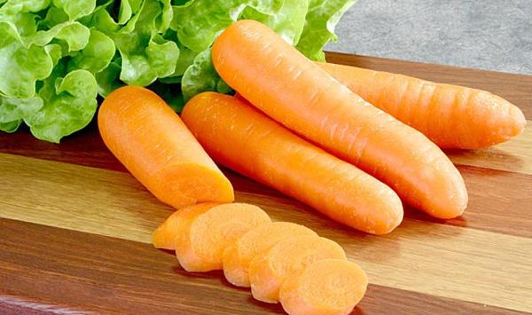 Las calorías zanahoria