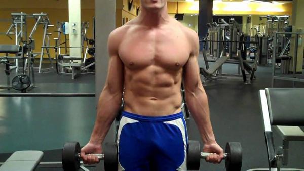 Ejercicios de bíceps con mancuernas