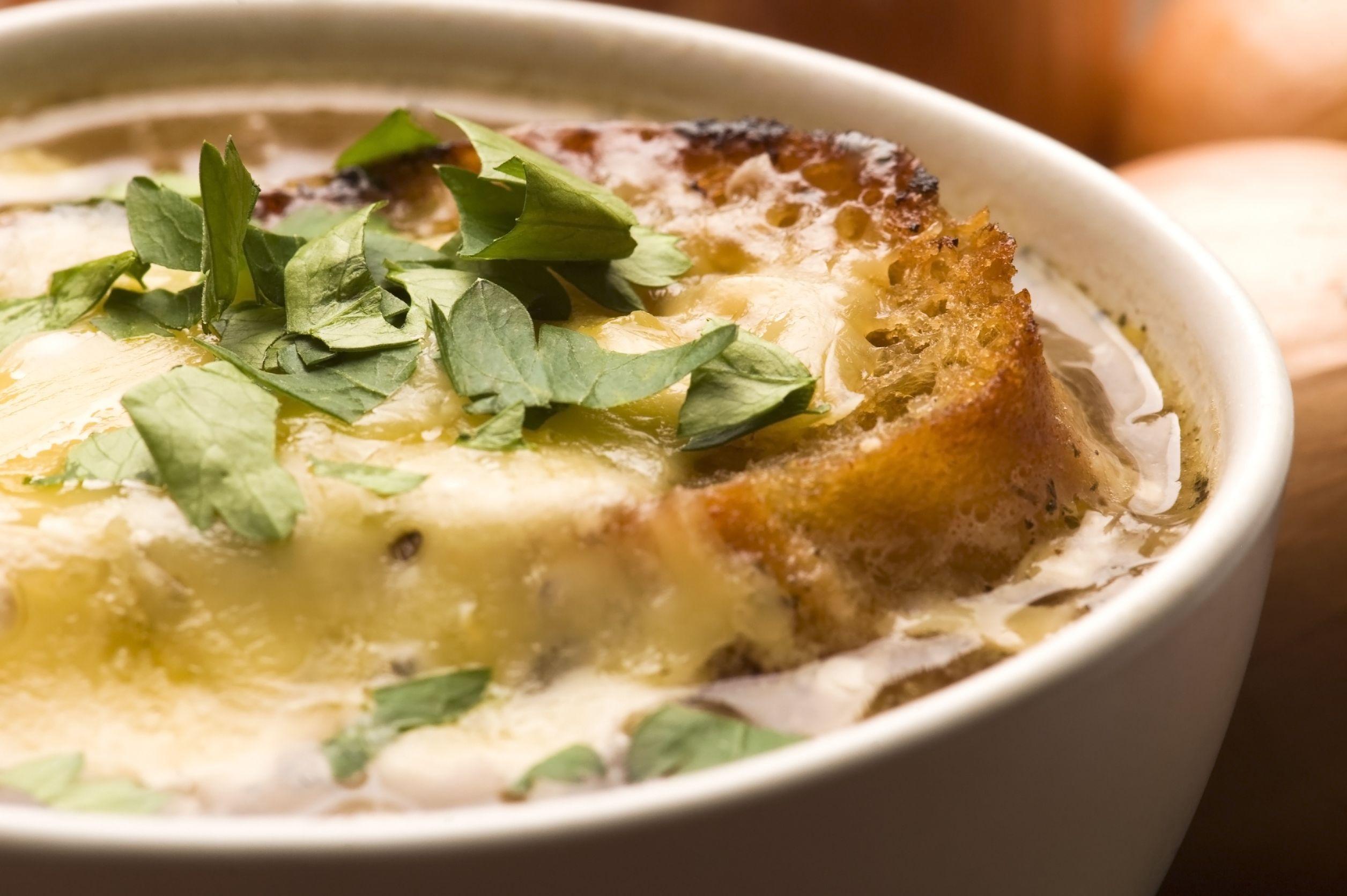 Sopa de cebolla recetas