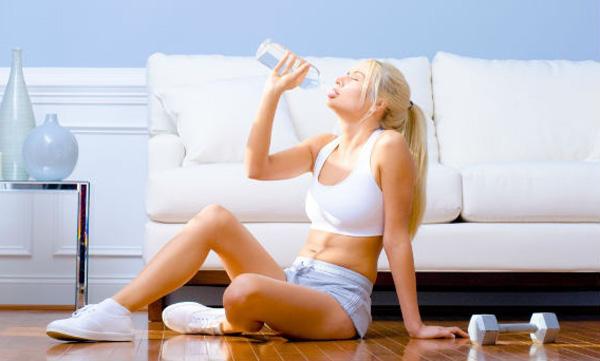 Tabla de ejercicios en casa