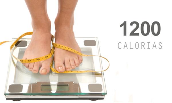 Dietas de 1.200 calorías para adelgazar