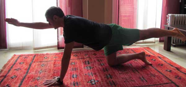 6 ejercicios para hernia discal