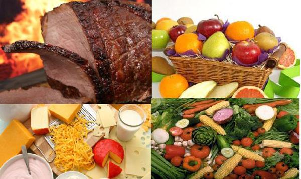 Menús dieta disociada