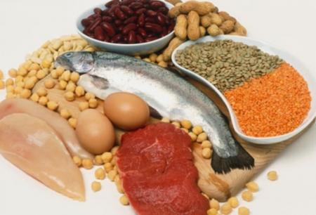 Alimentos con mucha proteína