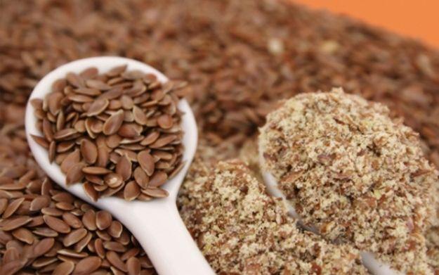 Cómo tomar semillas de lino.