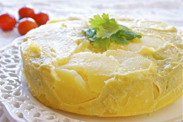 Calorías tortilla de patatas