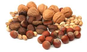 Calorías frutos secos