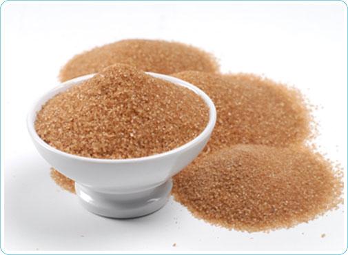 Azúcar moreno: propiedades