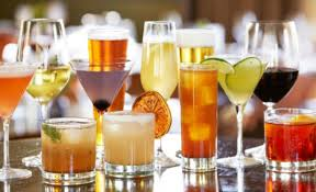 Calorías bebidas alcohólicas
