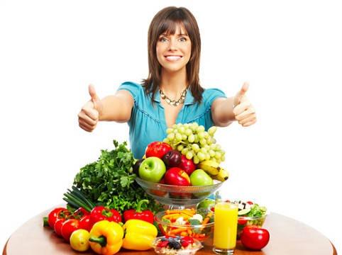 Dieta de frutas y verduras
