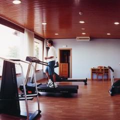Casa en ejercicios gym