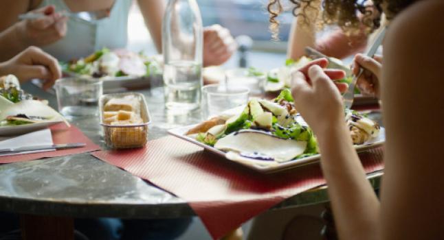 Alimentos con calorías recomendadas
