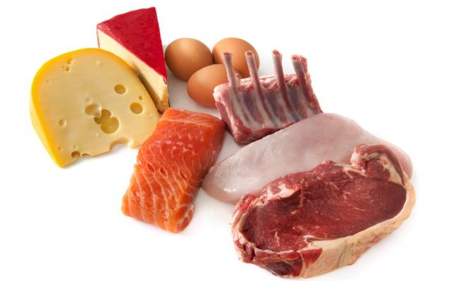 Alimentos que producen ácido úrico