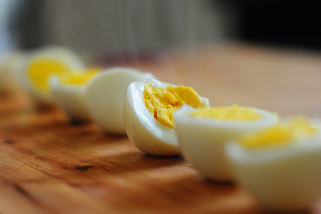 Calorías de un huevo duro
