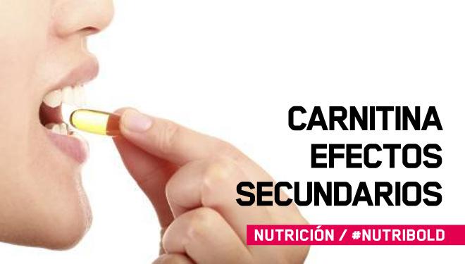 Carnitina: efectos secundarios