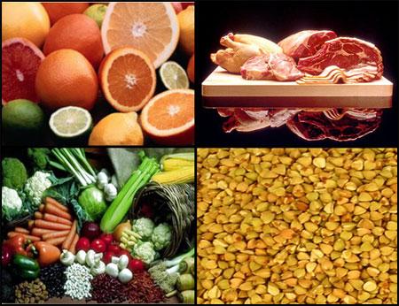 Tipos de comida con hierro
