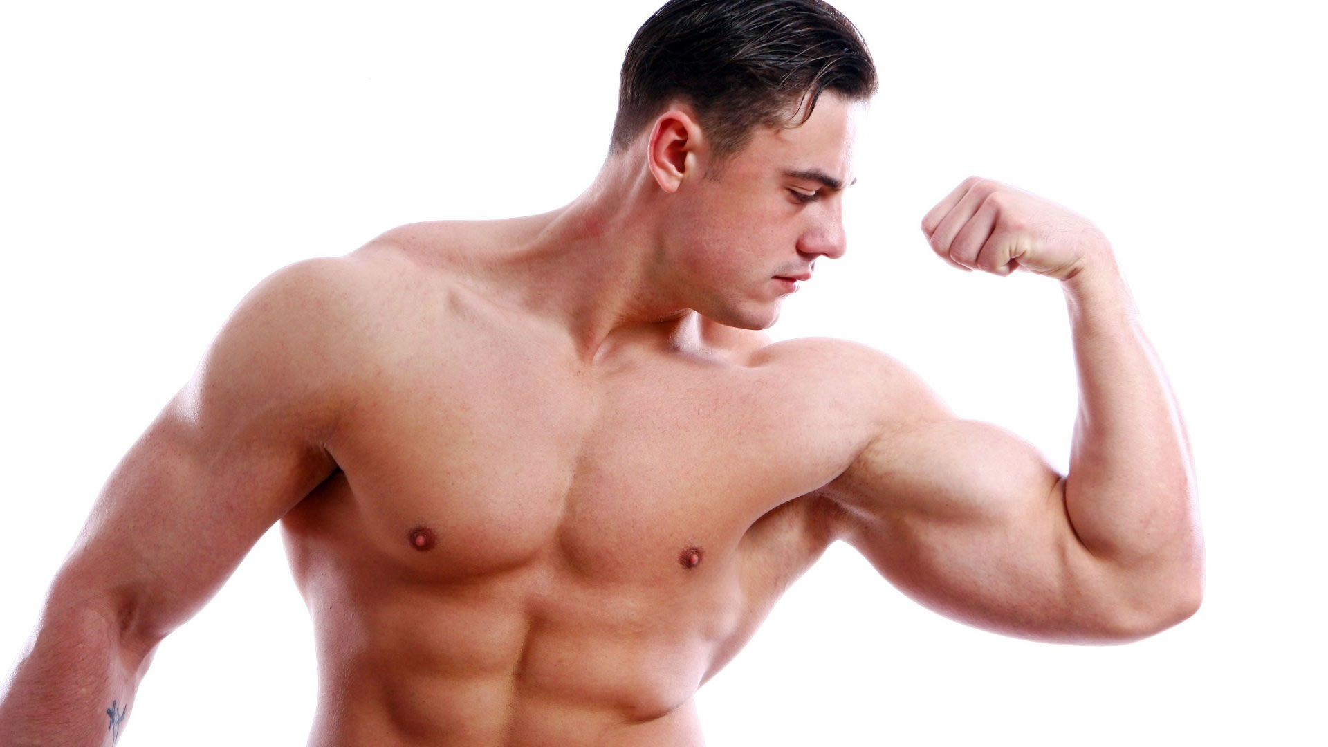 Cómo ganar masa muscular en casa