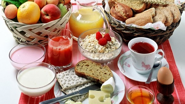 Desayuno para deportistas
