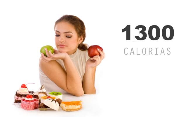 Dieta de 1300 calorías