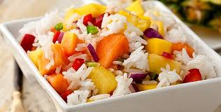 Dieta de arroz para bajar de peso.