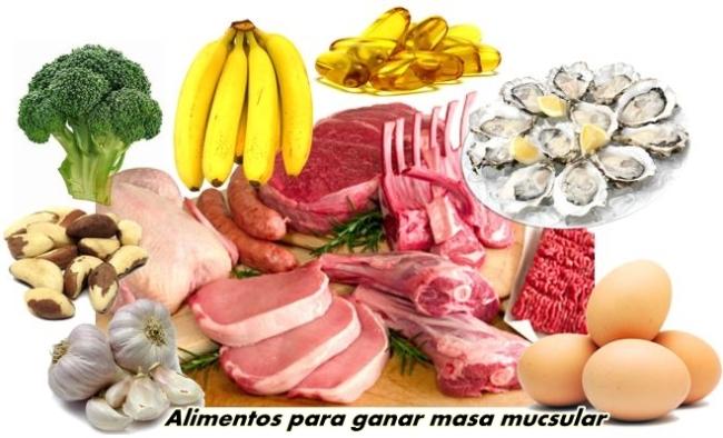 Dieta para lograr un aumento de masa muscular