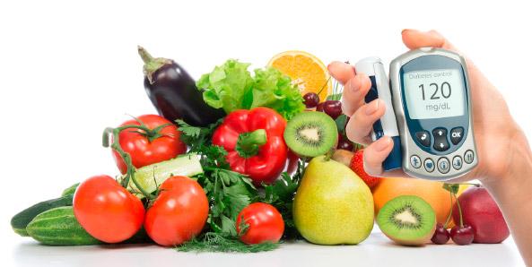 Alimentos dentro de una dieta diabética