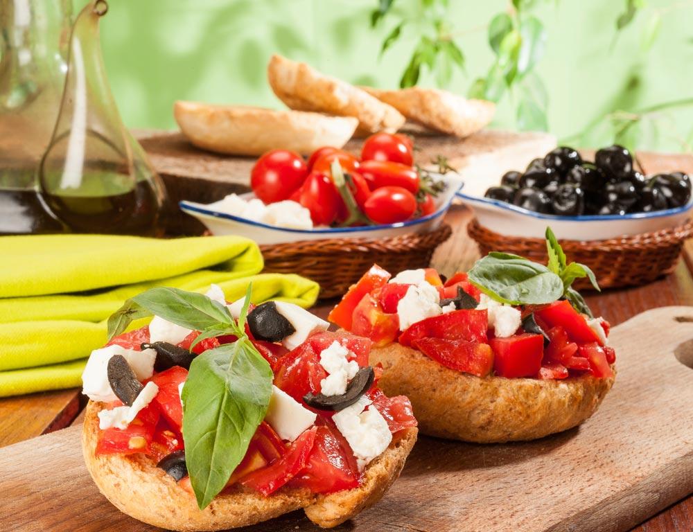 Dieta mediterránea: menús