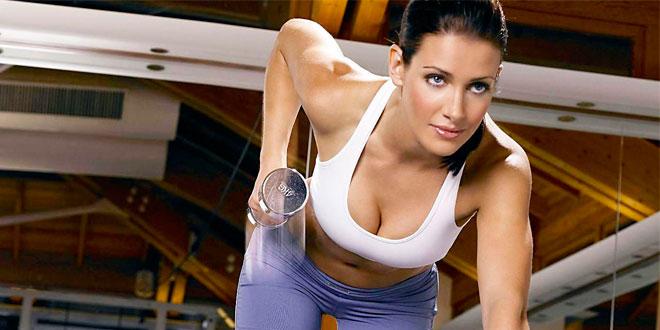 Ejercicios con pesas para mujeres