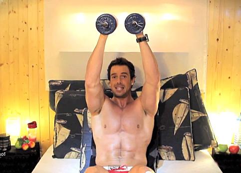 Ejercicios de musculación en casa