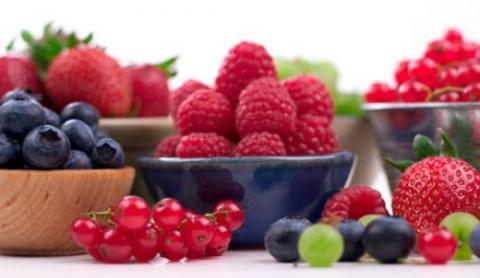 Cuáles son las frutas con antioxidantes