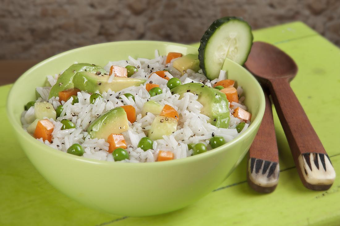 Ensaladas de arroz