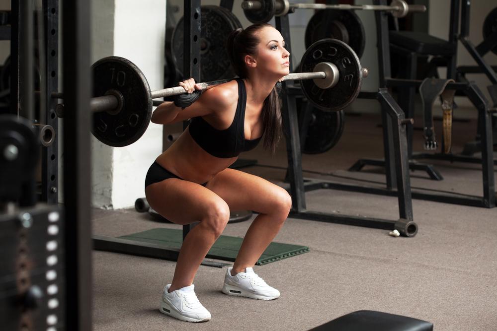 Cómo hacer ejercicios con pesas en casa