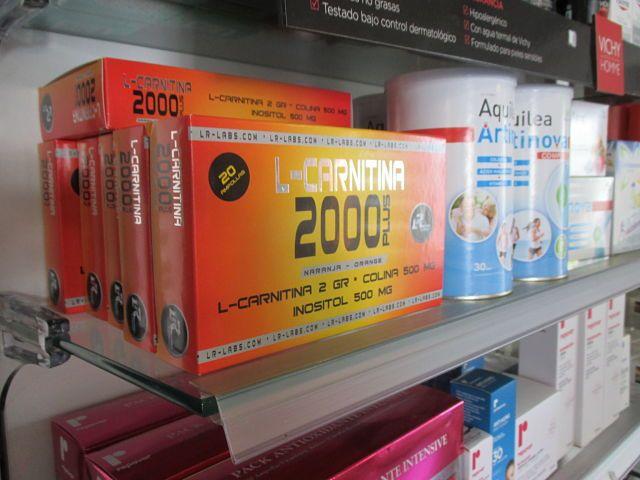 L-Carnitina farmacia