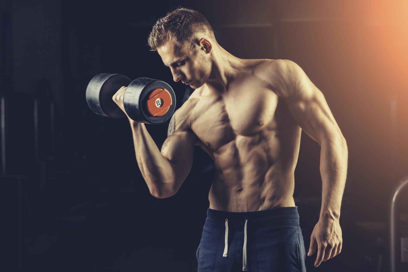 Ejercicios de bíceps en 3 formas diferentes