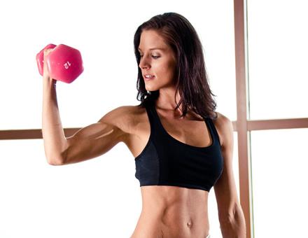 Ejercicios de brazos para conseguir tono muscular
