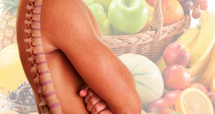 Alimentos para fortalecer músculos de la espalda