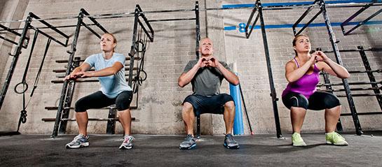 Ejercicios básicos de CrossFit