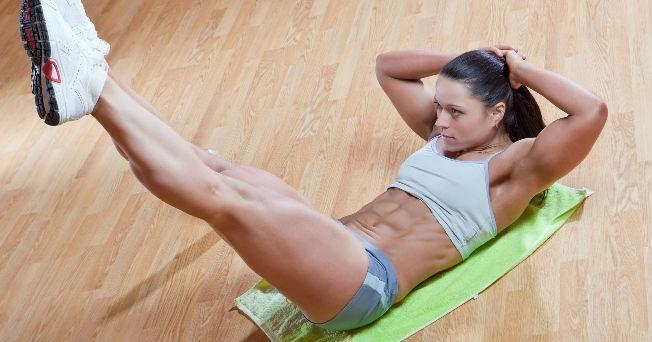 Rutina para entrenar el abdomen plano seguro