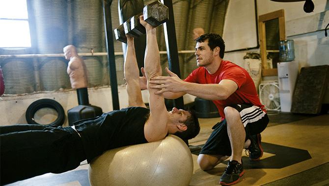 entrenamiento para principiantes en el gym