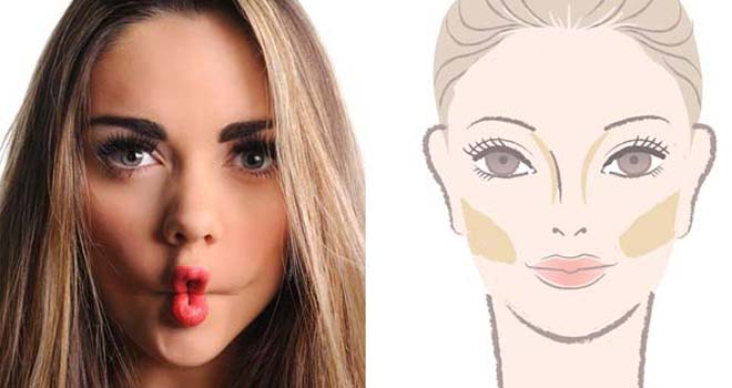 adelgazar-el-rostro-con-maquillaje