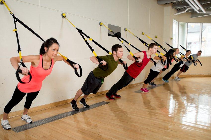 ejercicios con TRX para hacer en casa