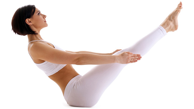 yoga posicion V