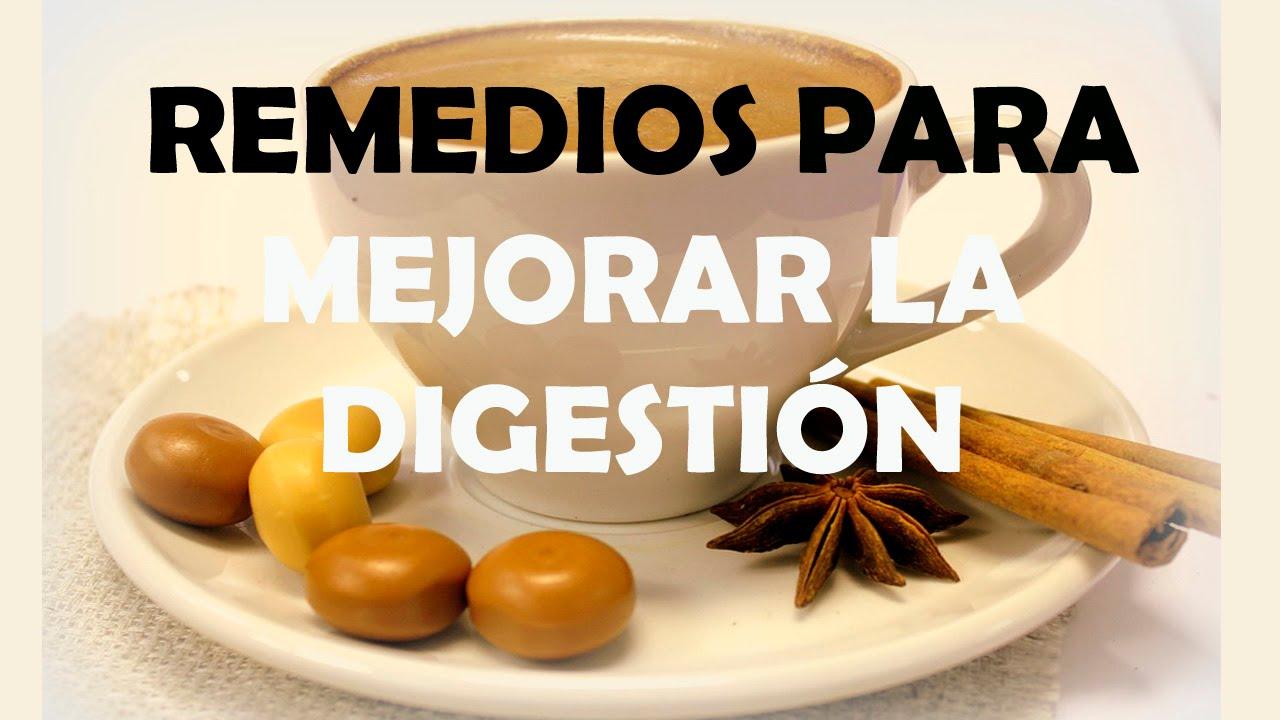 remedios naturales para aliviar la digestion