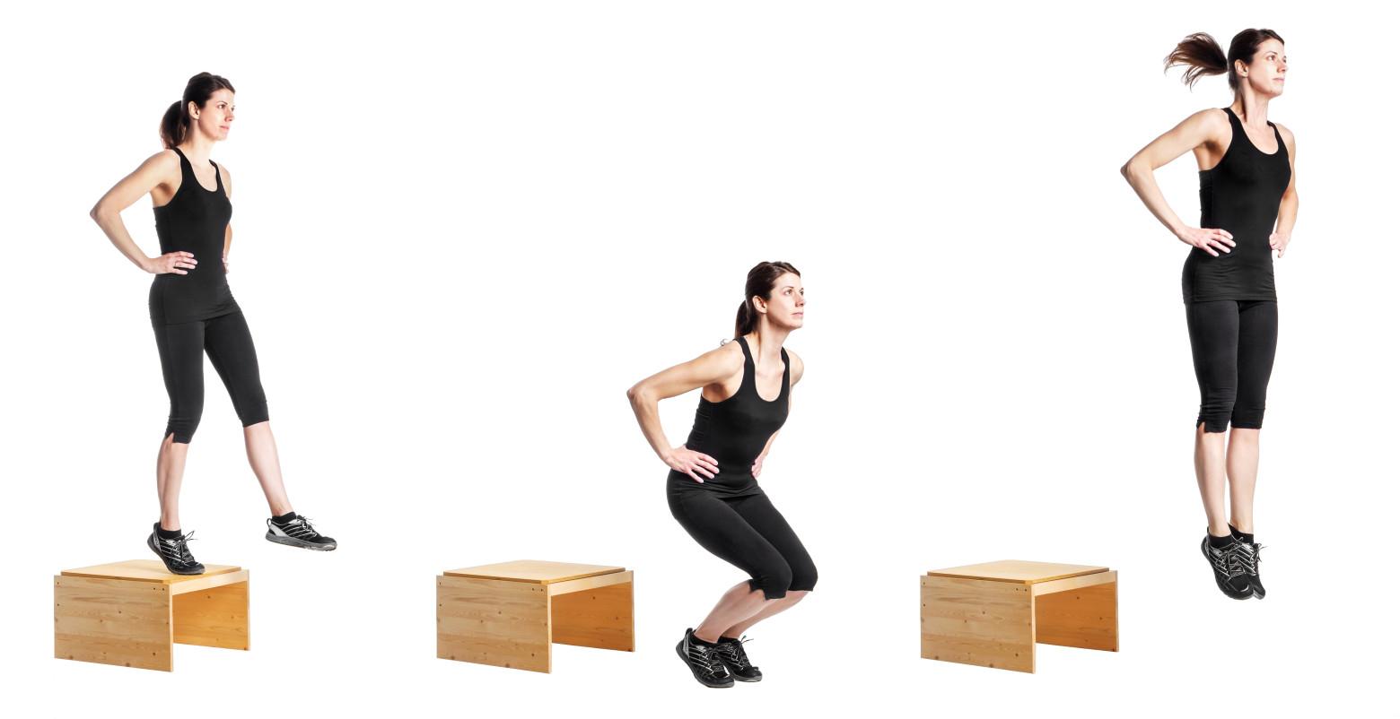 Aumenta la potencia de tu salto con el drop jump