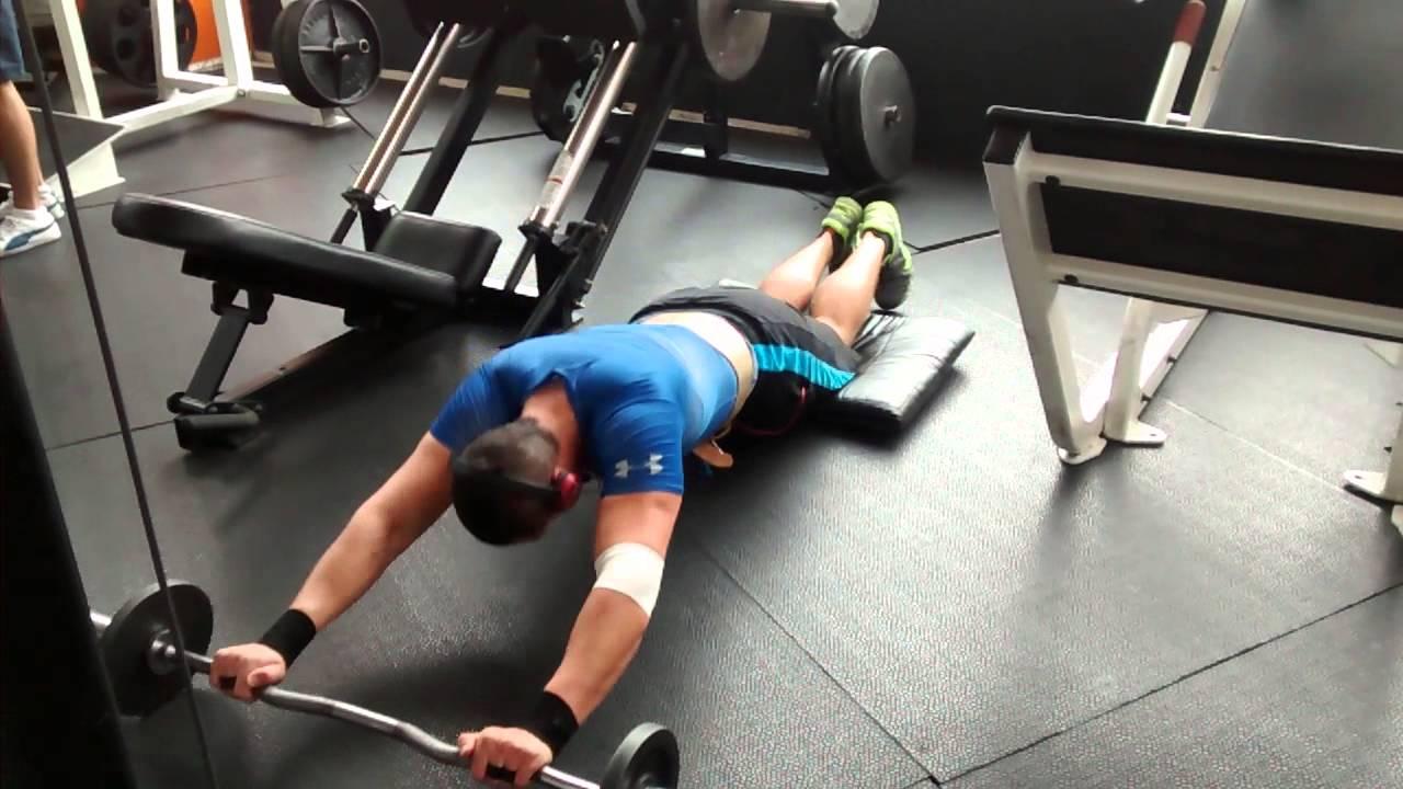 ejercicios abdominales con lastre