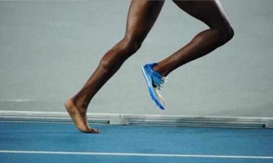 entrenar descalzo