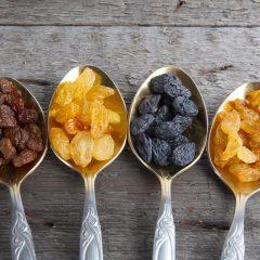 5 Beneficios de las pasas y sus propiedades para la salud