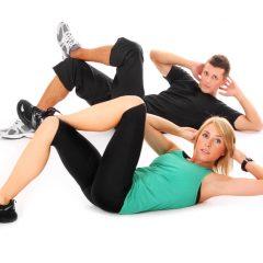 4 movimientos para fortalecer abdominales oblicuos