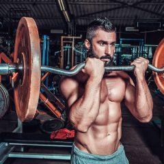 Ganar volumen muscular entrenando poco