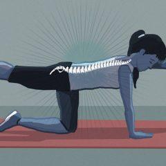 5 ejercicios para aliviar el dolor de espalda